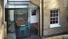 Create Perfect Extension Adding Modern Glass