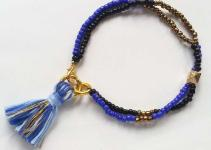 Create Seed Bead Tassel Bracelet Diy Crafts