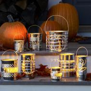 Create Tin Can Lanterns Old House
