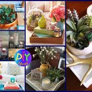 Creative Coffee Table Decor Ideas Diy Easy Room