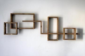 Creative Pallet Wall Shelf Furniture Diy