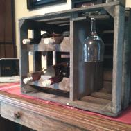 Creative Simple Homemade Wine Rack Cabinet Design Made