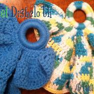 Crochet Pattern Angel Dishcloth