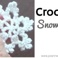 Crochet Snowflake Ornaments Holiday Diy Home Decor