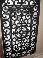 Curb Alert Repurposed Door Mat Cover Ugly Return