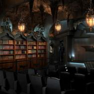 Custom Batcave Home Theater Elite Seating