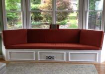 Custom Bay Window Seat Cushion Trapezoid