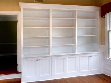 Custom Made Home Office Built Bookcases Stuart
