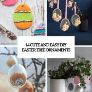 Cute Easy Diy Easter Tree Ornaments Shelterness
