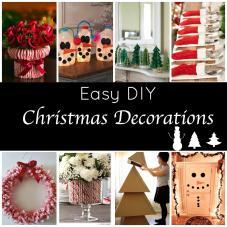 Cute Easy Diy Holiday Decorations Festive Home