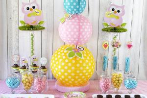 Cute Owl Baby Shower Ideas