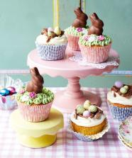 Cutest Ever Easter Cupcakes Recipe Topped Buttercream