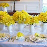 Daffodil Profusion Table Stonegable