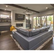 Dark Hardwood Floors Cabinets Attractive Home Design