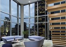 Dazzling Cityscape Minimal Penthouse Brings