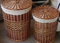 Decorate Wicker Laundry Basket