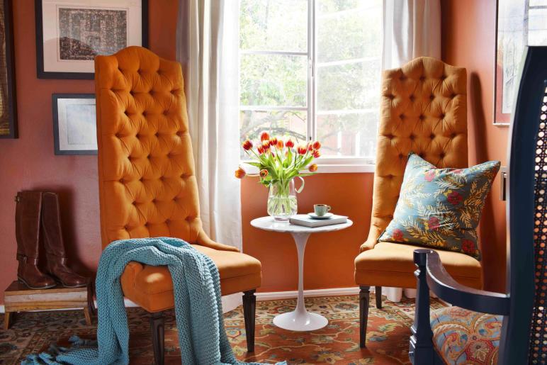 Decorate Your Home Orange Photos