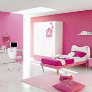 Decorating Bedroom Paint Pink Purple Teenage Girls
