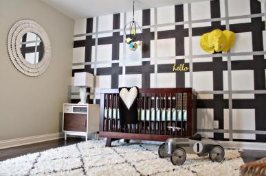 Decorating Cents Accent Walls Nurseries