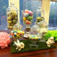 Decorating Easter Apothecary Jars Mommy Blogs