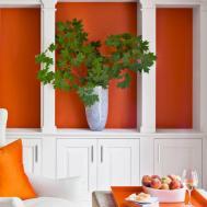 Decorating Orange Accents Home Decor