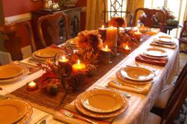 Decorating Thanksgiving Table Mical Blog