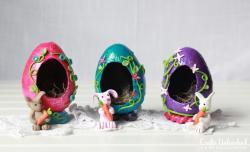 Decorative Eggs Faux Sugar Easter Tutorial