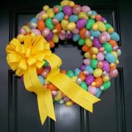 Dejavu Crafts Super Cute Easter Wreaths Ideas
