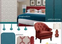 Design Board Marsala Pantone Color Year 2015