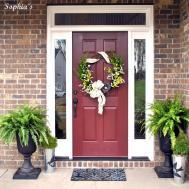 Design Decor Spring Front Porch Wreath Project