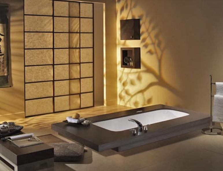 Design Japanese Bathroom Decorating