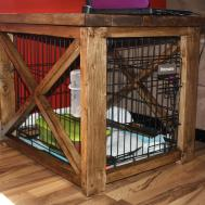 Designer Dog Crate Furniture Photos Epic Home Designing