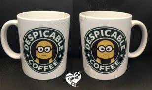 Despicable Coffee Starbucks Inspired Mug Custom Gifts