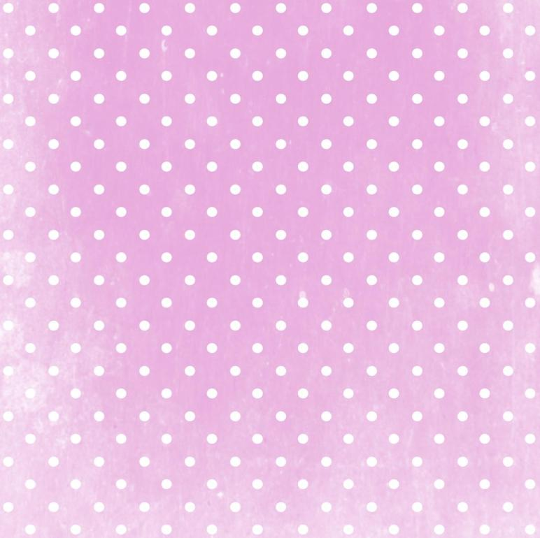 Digital Vintage Polka Dot Scrapbooking Fun Paper