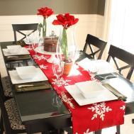 Dining Room Having Good Dinner Lovely Valentine