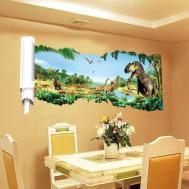 Dinosaur Kids Room Wall Sticker Home Decor Decal