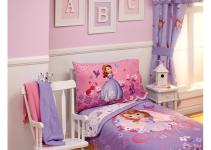 Disney Sofia First Toddler Bedding Set White Glaze
