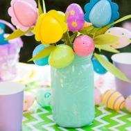 Divine Easter Centerpiece Children Garden Party Design