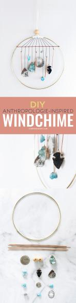 Diy Anthropologie Inspired Wind Chime Common Canopy