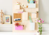 Diy Anthropologie Wall Organizer Hack Fish Bull