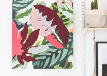 Diy Applique Fabric Canvas Mother Day Fall