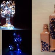 Diy Art Attack Minutes Magic Bottle Lamp Home Decor