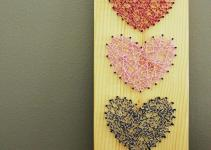 Diy Baker Twine Heart String Art