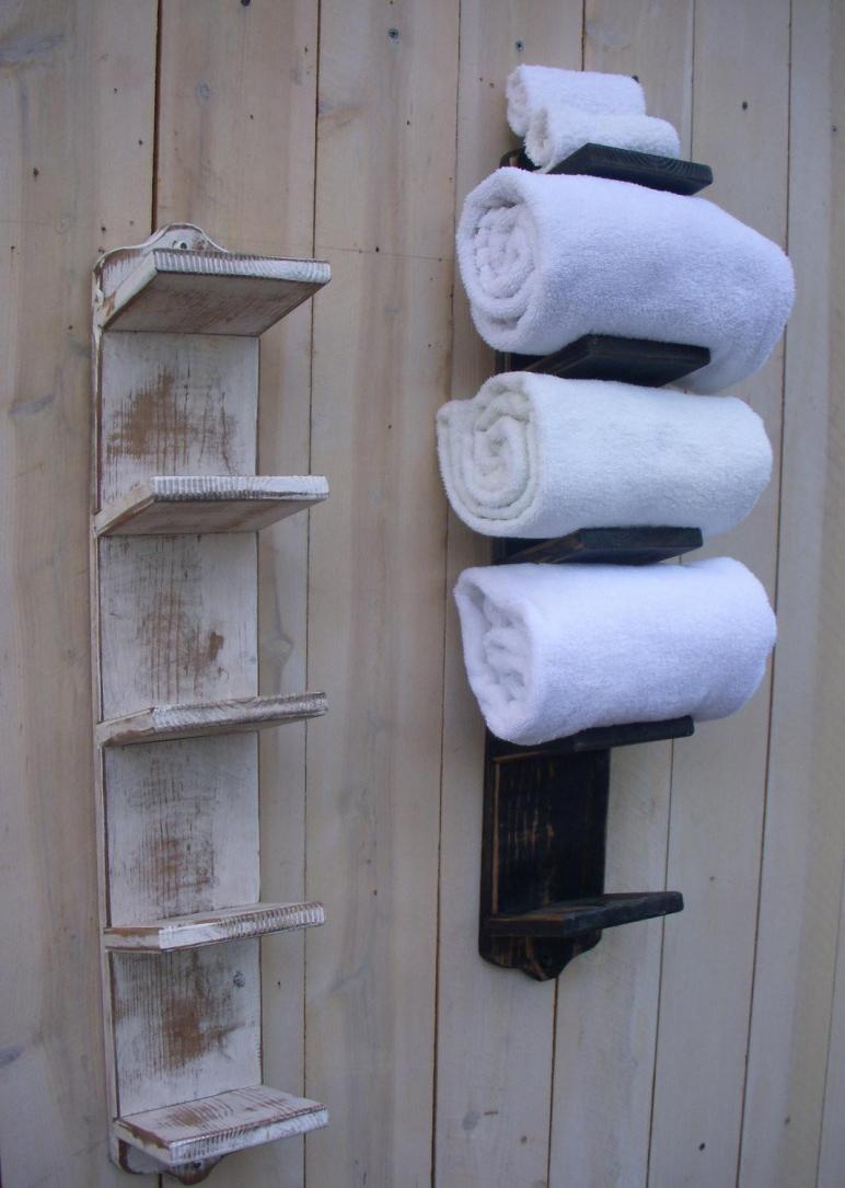 Diy Bathroom Towel Storage Modern Dominated