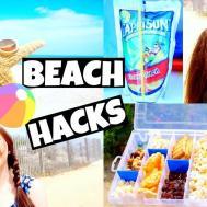 Diy Beach Hacks Summer