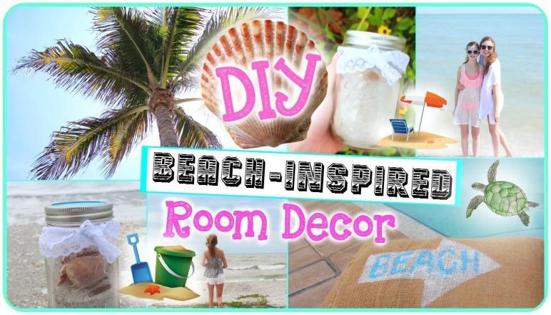 Diy Beach Inspired Room Decor