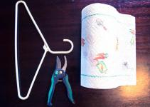 Diy Belt Loop Paper Towel Holder Awingthing Wing