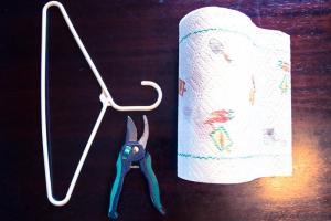 Diy Belt Loop Paper Towel Holder Awingthing Wing