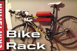 Diy Bike Storage Wall Mounted Rack Craftsman
