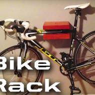 Diy Bike Storage Wall Mounted Rack Craftsman